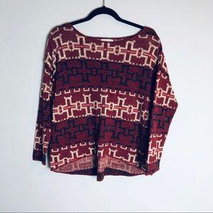 Ralph Lauren Denim and Supply Aztec Sweater Size L